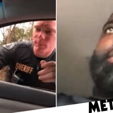 White cop pulls over black driver for going 65mph in a 70mph zone