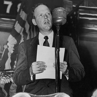 Charles Lindbergh Pushed Anti-Semitic Conspiracies To Keep America From Fighting Hitler