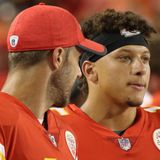Patrick Mahomes: Alex Smith wasn't there, but he was part of win