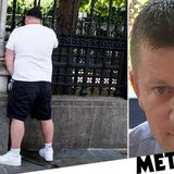 Man urinates next to memorial of PC Palmer as far-right protests escalate