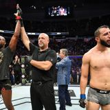 Jon Jones pressured by Dominick Reyes but pulls off another record-setting win