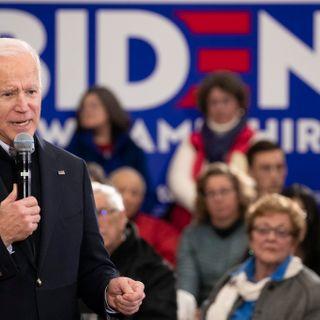 Biden plummets in new national poll, ceding top spot to Bernie