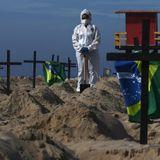 Brazilians dig mock mass graves to protest President Bolsonaro's handling of coronavirus outbreak