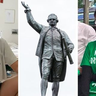 'Outside of work hours': Captain Cook statue defacer identified as Greens staffer