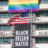 Black Lives Matter banner removed from U.S. embassy in Seoul after it displeased Trump and Pompeo
