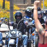 La Mesa Police Chief Hears 'Non-Negotiable' Demands as Bikers Join Rally - Times of San Diego