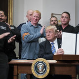 Trump imposes tariffs on steel and aluminum, but offers relief to allies