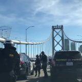 Arrests made after car caravan shuts down upper deck of Bay Bridge
