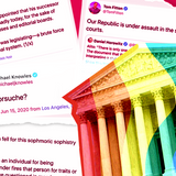 The Supreme Court ruled that it is illegal to fire folks for being LGBTQ, and right-wing media are furious