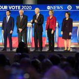 In Fierce Debate, Democratic Candidates Expand Health Agenda Arguments