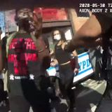 'I ripped the s--- off and I used it,' cop bragged after taking off Brooklyn protester's mask and pepper-spraying him, bodycam footage shows