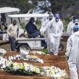 Brazil Reports Big Surge In Coronavirus Infections