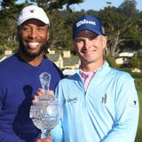 Larry Fitzgerald wins Pebble Beach Pro-Am for second time in three years