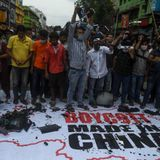 Calls to boycott Chinese companies and products in India after deadly border clash
