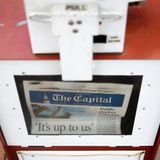 Two Capital Gazette journalists who covered the shooting in their own newsroom have taken buyouts