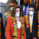 Kente Cloth Worn By Democrats Was 'Historically Worn' By African Empire Involved In Slave Trade, Fact Checker Says