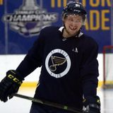 Tarasenko back on the ice as Phase 2 begins