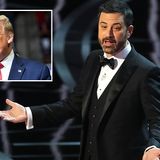 Lefty Jimmy Kimmel hoped to skewer Trump over use of the n-word. Now the comedian is in trouble for using the phrase HIMSELF