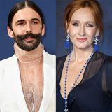 "Jonathan Van Ness Says J.K Rowling's Gender ""Fears"" Are ""Rooted in White Supremacy"" - E! Online"