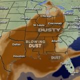 Saharan dust drifting toward United States, may impact Illinois