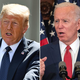 Poll shows Biden with 14-point lead over Trump, his largest lead of the year