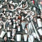 Nazi Treasure Chest Filled With Stolen Silver Found Buried At Polish Castle