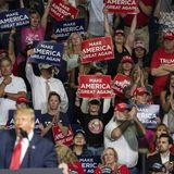 Trump Campaign Removed Social Distancing Stickers From Seats at Tulsa Rally