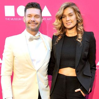 Ryan Seacrest Announces Breakup From Shayna Taylor as He Vacations With Mystery Woman - E! Online