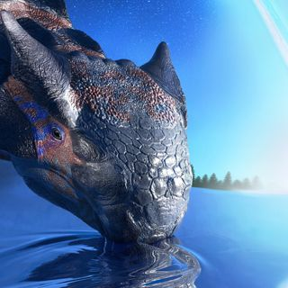 Asteroid impact, not volcanoes, made the Earth uninhabitable for dinosaurs   Imperial News   Imperial College London