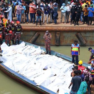 Bangladesh boat crash kills at least 32, as ferry sinks in 20 seconds