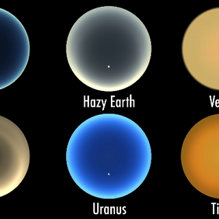 A Simulation of Sunsets on Other Worlds: From Venus to Titan - Universe Today