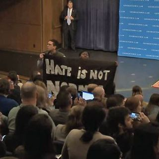 """Poll finds most college students want to ban """"threatening ideas"""""""