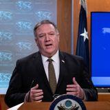 Pompeo urges U.N. arms embargo on Iran's `terrorist regime'