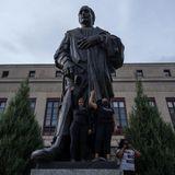 Columbus, Ohio, Takes Down Statue Of Christopher Columbus