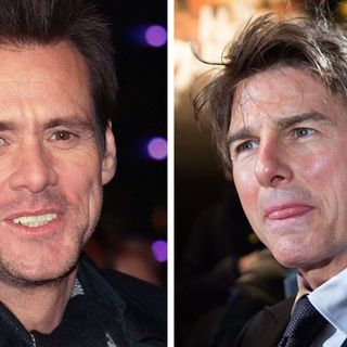 Jim Carrey thinks Tom Cruise will 'sock' him, but at least Nic Cage loves his book