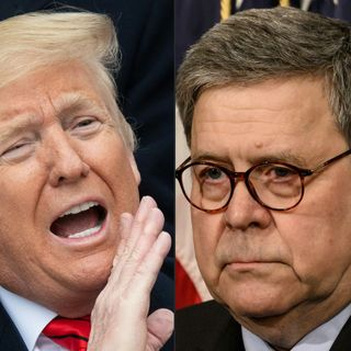 No holds Barred: An attorney general humiliated by a president unbound