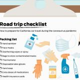 Road trip checklist: How to prep for California car travel in the coronavirus pandemic