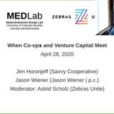 When Co-ops and Venture Capital Meet : Media Enterprise Design Lab @ CU Boulder : Free Download, Borrow, and Streaming : Internet Archive
