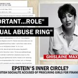 "Breaking: Ghislaine Maxwell arrested, faces DoJ indictment today; Update: Six counts, including ""sexual abuse of minor victims"""