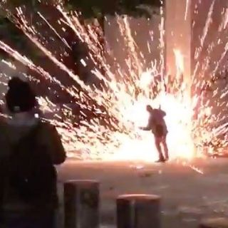 Antifa Terrorists Use Explosives to Attack Portland Law Enforcement, One Comrade Injured After Firework Blows up in His Face (VIDEOS)