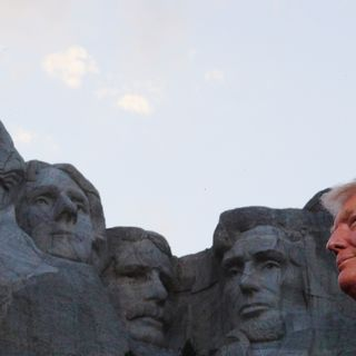 Trump Address Mount Rushmore Crowd Without a Mask