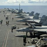 Two U.S. aircraft carriers head to South China Sea
