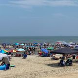 What pandemic? Tourists crowd Jersey Shore beaches for Independence Day weekend.