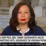 Tammy Duckworth: We should listen to the argument for tearing down statues of George Washington