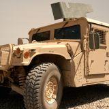 Fort Chaffee Humvee stolen at gunpoint, search underway for suspects