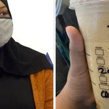 """A Muslim Woman Received A Starbucks Cup With """"ISIS"""" Written On It Instead Of Her Name"""