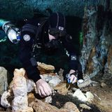 Underwater caves once hosted the Americas' oldest known ochre mines