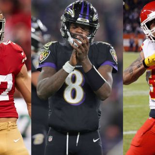 NFL's most complete teams in '20? Ravens, 49ers, Chiefs top the list