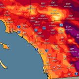Hot Weekend with Triple-Digit Highs Forecast for Much of San Diego County - Times of San Diego