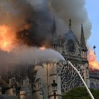 Emmanuel Macron approves plan to restore Notre-Dame's spire to former glory